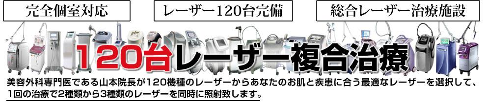 108台レーザー複合治療